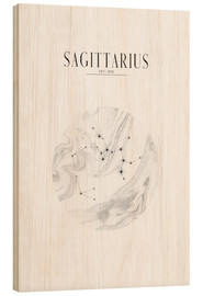 Cuadro de madera  SAGITTARIUS | SAGITTARIUS - Stephanie Wünsche