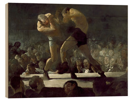 Cuadro de madera  Club Night - George Wesley Bellows