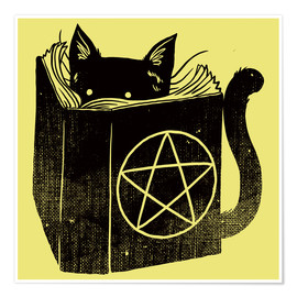 Póster  Witchcraft Cat - Tobe Fonseca