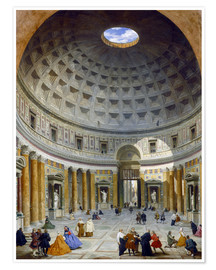 Póster Interior of the Pantheon