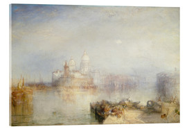 Metacrilato  The Dogana and Santa Maria della Salute - Joseph Mallord William Turner