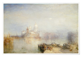 Joseph Mallord William Turner - The Dogana and Santa Maria della Salute