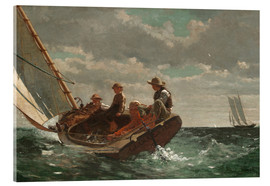 Cuadro de metacrilato  Breezing Up (A Fair Wind) - Winslow Homer