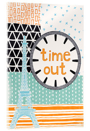 Cuadro de metacrilato  Time Out - Sybille Sterk