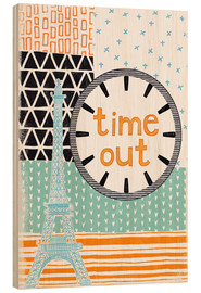 Cuadro de madera  Time Out - Sybille Sterk
