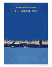 Póster  My Godfather I minimal movie poster - chungkong
