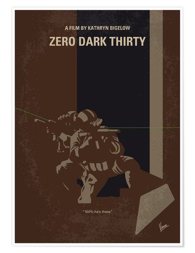 Póster Zero Dark Thirty