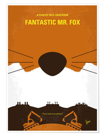 Póster Fantastic Mr. Fox