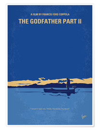 Póster  My Godfather II minimal movie poster - chungkong