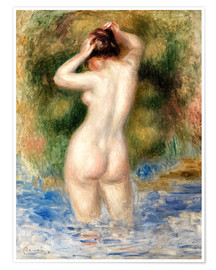 Póster Bather