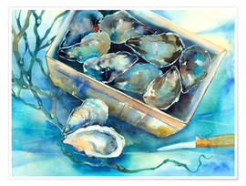 Póster oysters