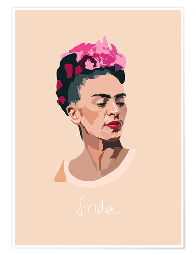 Póster Frida Portrait