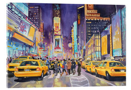 Metacrilato  Times Square at night - Paul Simmons