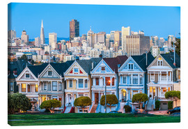 Lienzo  Painted Ladies, San Francisco