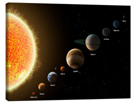 Lienzo  Our planets