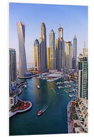 Forex  Dubai Marina from above