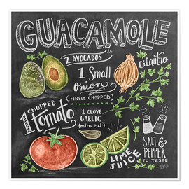 Póster  Guacamole - Lily & Val