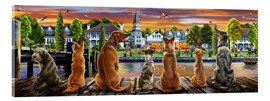 Metacrilato  Dogs on the Quay (Variant 1) - Adrian Chesterman