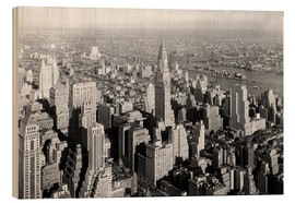 Cuadro de madera  New York City 1932, Midtown Skyline - Sascha Kilmer