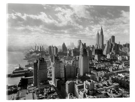 Cuadro de metacrilato  New York, Manhattan Skyline 1930 - Sascha Kilmer