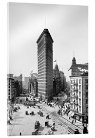Cuadro de metacrilato  New York City 1920, Flatiron Building - Sascha Kilmer
