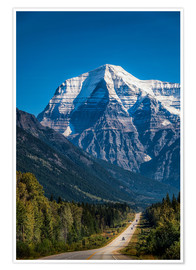 Póster Mount Robson