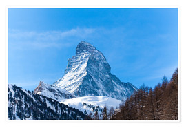 Póster  The Matterhorn, Switzerland