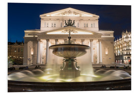 Cuadro de PVC  Fountain and Bolshoi Theatre