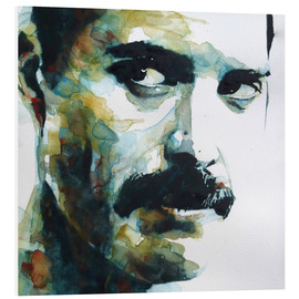 Cuadro de PVC  Freddie Mercury - Paul Lovering Arts