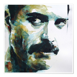 Póster  Freddie Mercury - Paul Lovering Arts