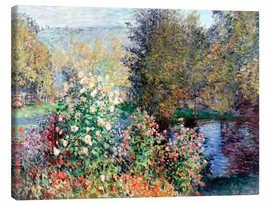 Lienzo  The corner - Claude Monet