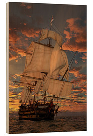 Madera  The HMS Victory - Peter Weishaupt