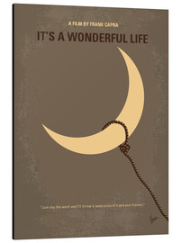 Aluminio-Dibond  My Its a Wonderful Life minimal movie poster - chungkong