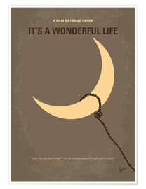 Póster  My Its a Wonderful Life minimal movie poster - chungkong