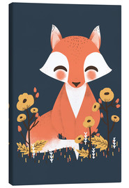 Lienzo  Animal friends - The fox - Kanzi Lue
