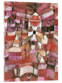 Metacrilato  Rose garden - Paul Klee
