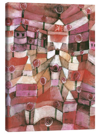 Lienzo  Rose garden - Paul Klee
