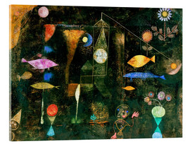 Metacrilato  fish magic - Paul Klee