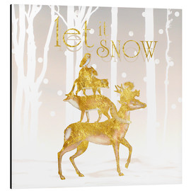 Cuadro de aluminio  Let It Snow - Mandy Reinmuth