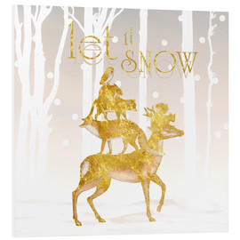 Cuadro de PVC  Let It Snow - Mandy Reinmuth