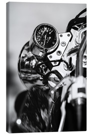 Lienzo  Speedometer of a motorcycle