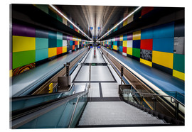 Cuadro de metacrilato  Subway Munich - Georg-Brauchle-Ring 2 - MUXPIX