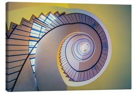 Lienzo  Staircase in crayon - MUXPIX