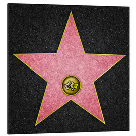 Aluminio-Dibond  Blank Theater star, Hollywood Boulevard