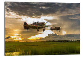 Cuadro de aluminio  Hurricanes Come Home - airpowerart