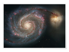 Póster Spiral nebulae - beauty of the universe