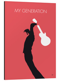 Cuadro de aluminio  The Who, My Generation - chungkong