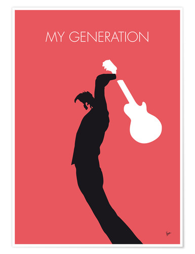 Póster The Who, My Generation
