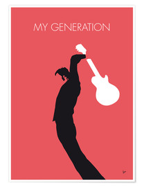Póster  The Who, My Generation - chungkong