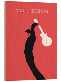 Cuadro de madera  The Who, My Generation - chungkong